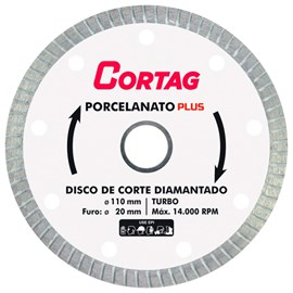 Disco diamantado cortag porcelanato