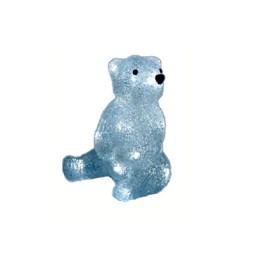 Figura iluminada taschibra urso-20 led br