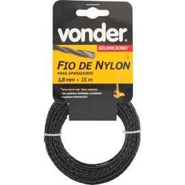 Fio de nylon vonder 1,8mmx15m