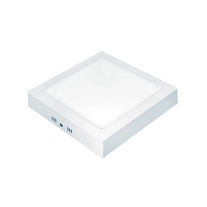 Painel taschibra led 18w lux quadrado sobrepor