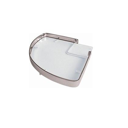 Porta shampoo moldenox canto com vidro
