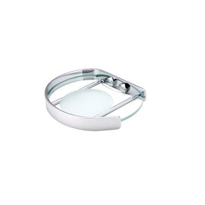 Saboneteira moldenox com vidro
